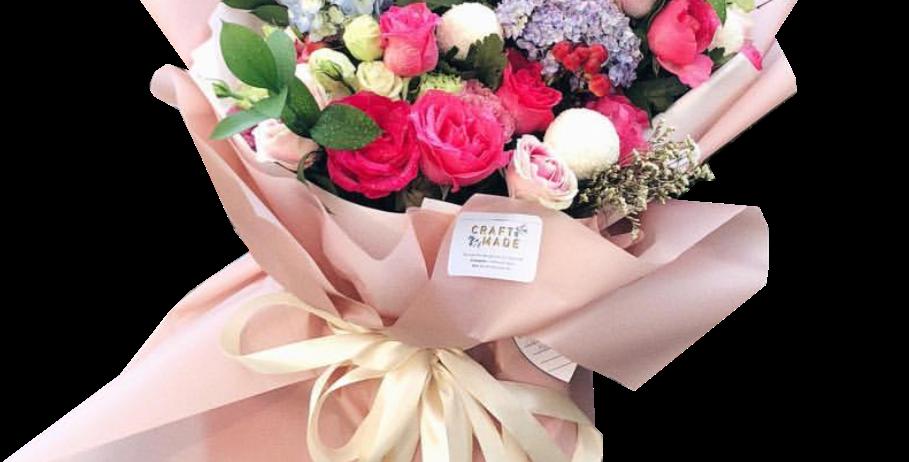 Mixed Flowers XXL Size