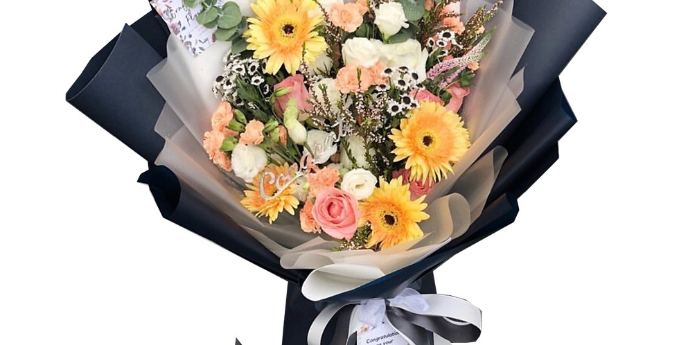 Bright & Colourful Mixed Flowers
