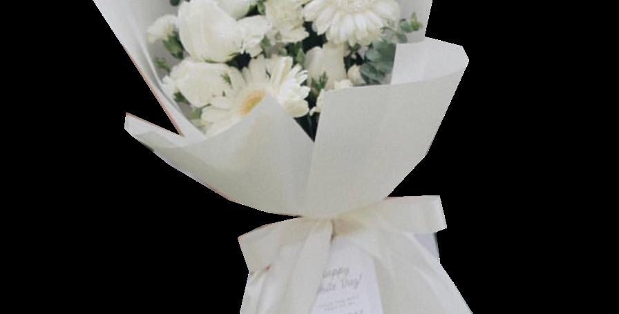 White Day Bouquet