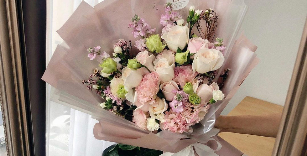 Mixed Pink Tone Bouquet