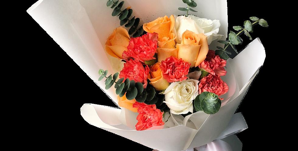 Orange Tone Bouquet