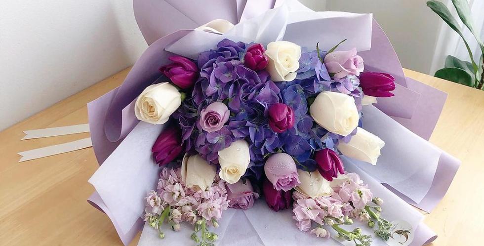 Purple Tone Bouquets