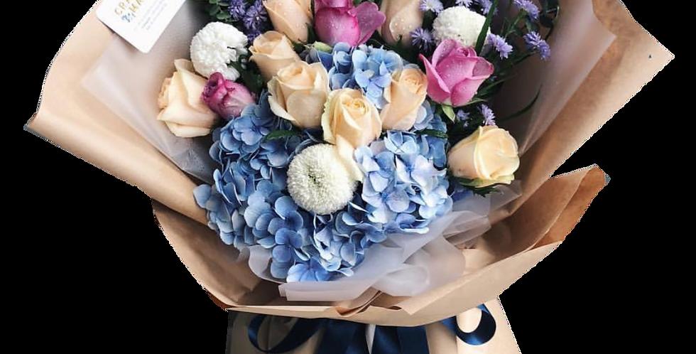 Colourful Flowers Bouquet