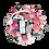 Thumbnail: Pink Flowers Basket