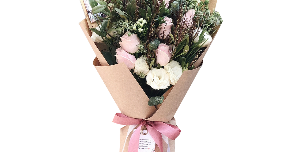 Pink Tone Foresty Bouquet