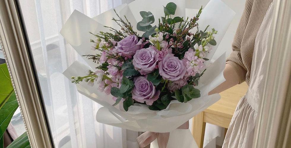 Very Sweet Purple Bouquet