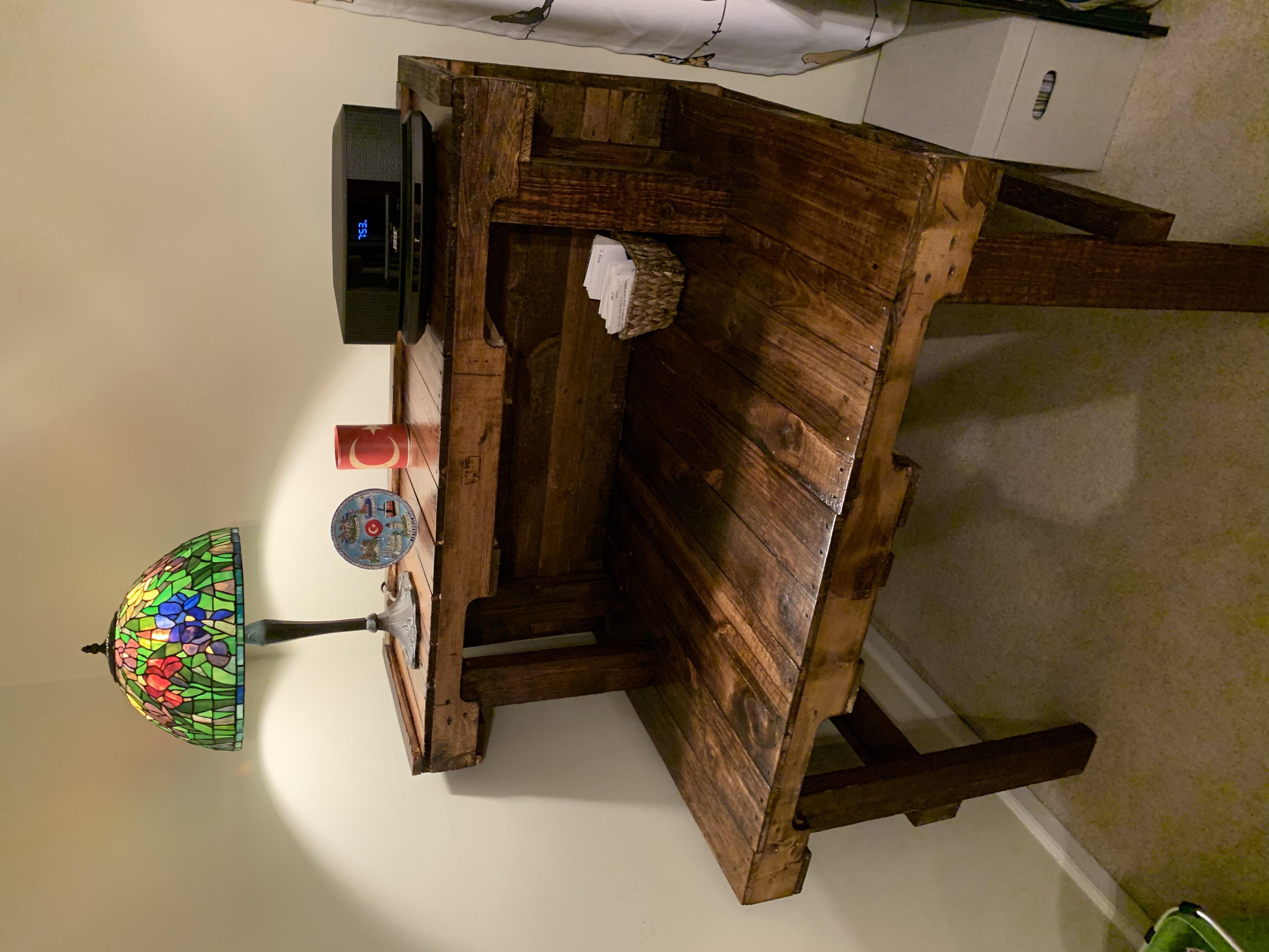 Pallett desk