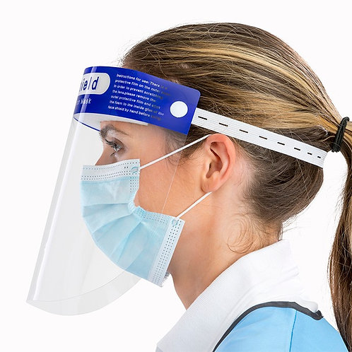 Face Splash Shield - Pack of 5 Free Delivery