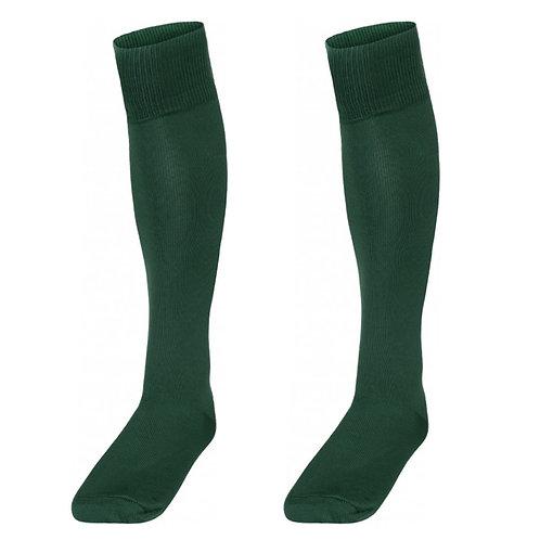 Bottle Green Football Socks