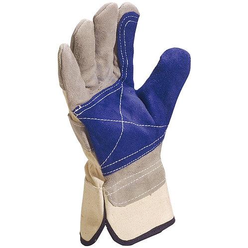 DS202RP Delta Plus Cowhide Split Leather Gloves