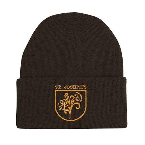 Woolly Hat with Embroidered Logo - Child