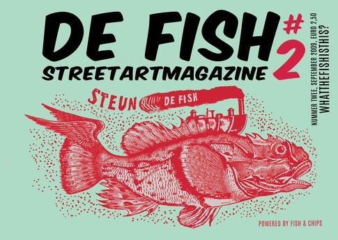 De fish streetartmagazine #2/16. Art direction & design
