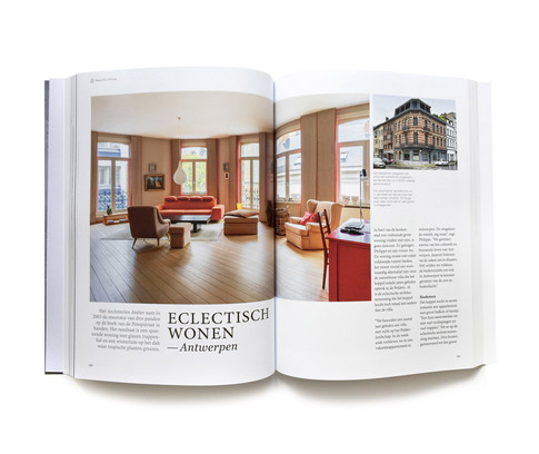 Home is not a house it's a feeling - book design (296 pages)