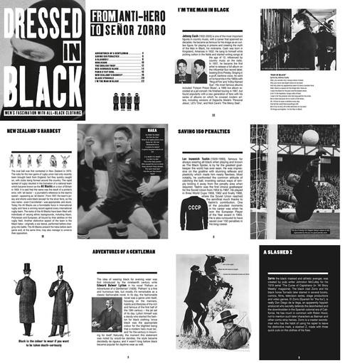 Bookshop copyright antwerp - Dressed in black fanzine