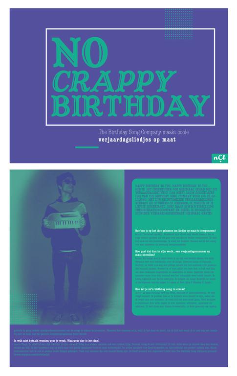 DF magazine - no crappy birthday
