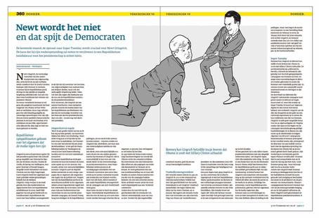 360 magazine (NL) - strijd om de republikeinse kandidatuur