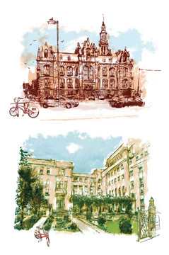 Città magazine - de 5 minuten van vélo. loodswezen en instituut voor tropische geneeskunde