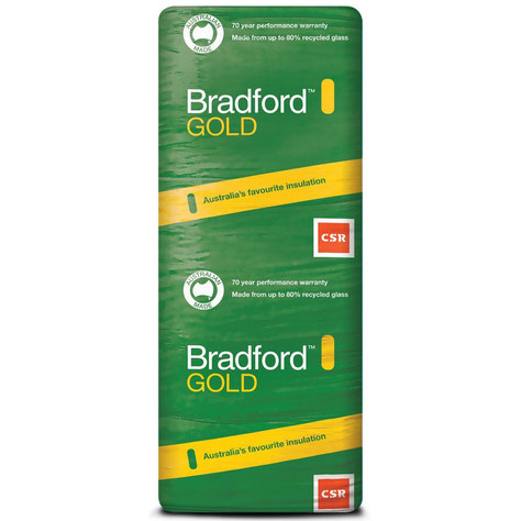 Bradford Gold Batts - Insulation