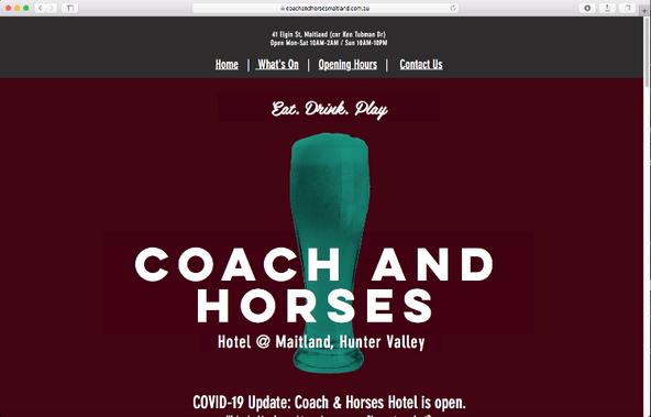 Coach and Horses Maitland
