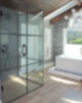 swing door-Swing Side_Grey  tile_Low iro
