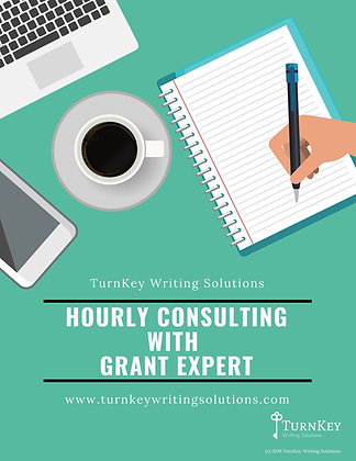 Hourly Consulting with a Grant Expert
