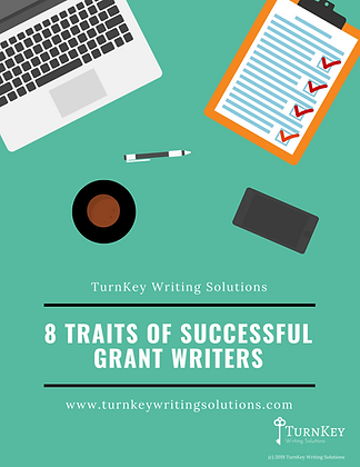 8 Traits of Successful Grant Writers - PDF Instant Download