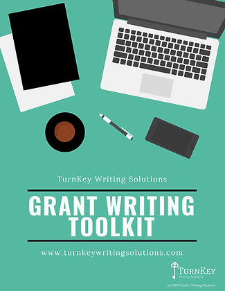 Grant Writing Toolkit - PDF Instant Download