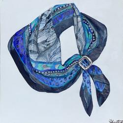 Blue Hermès