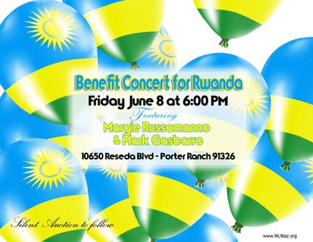 Benefit Concert for RWANDA