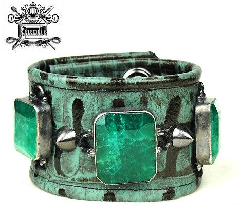 Genuine Indian Emeralds (Emerald Cut and Huge)