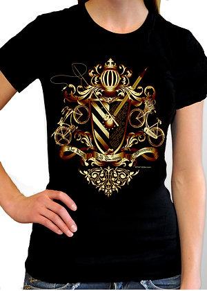 Women's (King & Queen of Summer) Black t-shirt