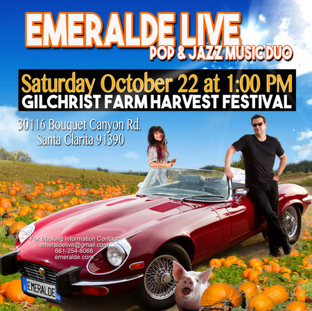 We had a blast performing at the Gilchrist Farm Harvest Festival!!!!!