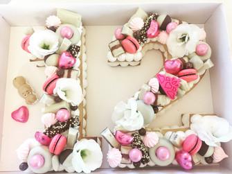 בת מצווה עוגת מספרים