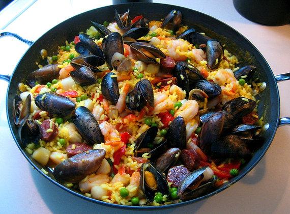 Paella à l'Espagnol