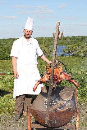 Méchoui cochon grillé