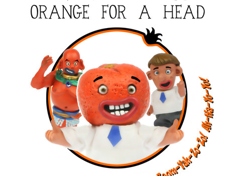The Boy With An Orange For A Head