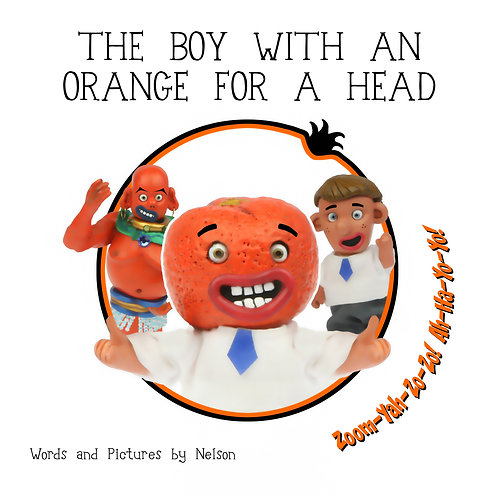 The Boy With An Orange For A Head (signed)