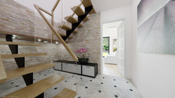 Big hall and the staircase