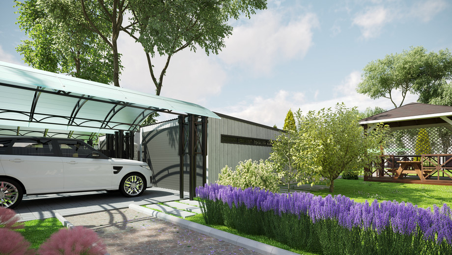 Carport and garage visualization
