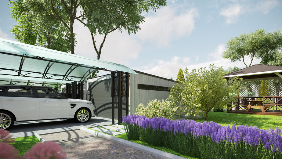 Carport and garage visualization