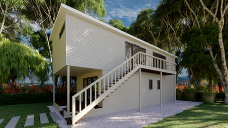 Small cottage house in Australia