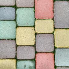 Colored cobblestone 3840x2160