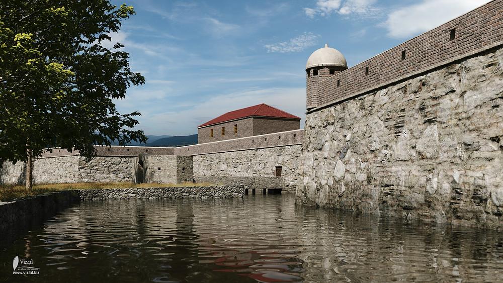 Вхід до замку з вулиці Монастирської - viz4d.biz