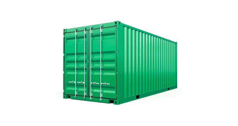 Морський контейнер довжиною 20 футів