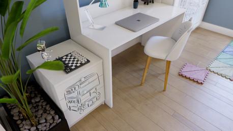 Modular furniture visualization
