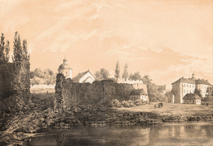 Castle of Bar by Napoleon Orda, 1872-1874