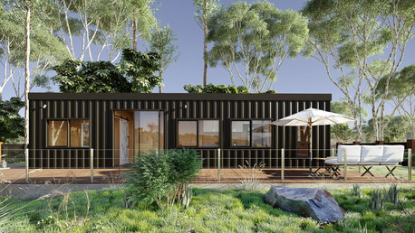 Sea container house