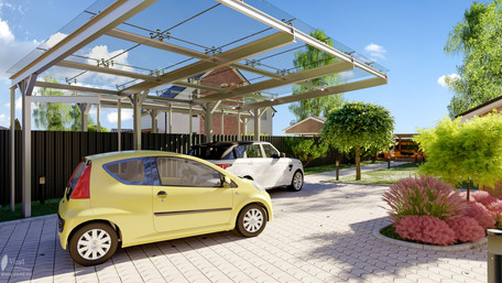 Carport of the Residence One