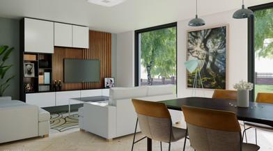 Nice compact living-room