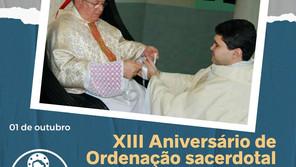 01/10 - XIII aniversário de ordenação sacerdotal do Pe. Damião Araújo